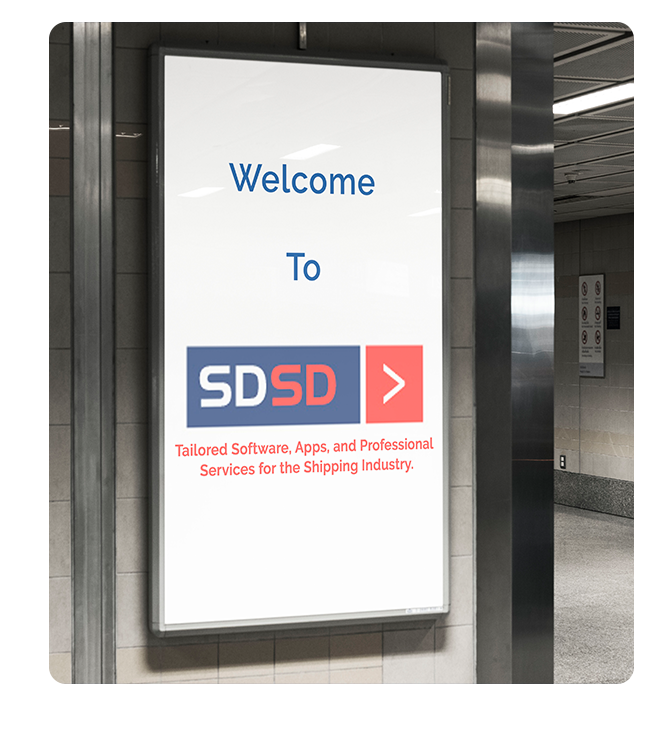 SDSD - Tailored Softwares, Apps and Professional Services for Shipping Industry